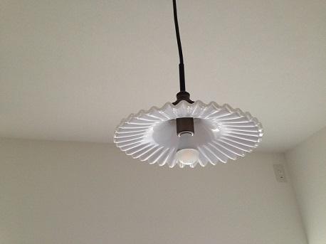 H邸寝室照明無点灯時