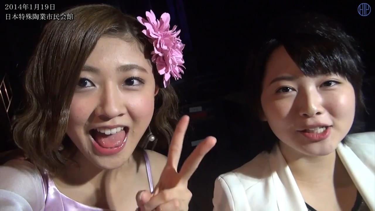 Berryz工房の熊井友理奈と須藤茉麻