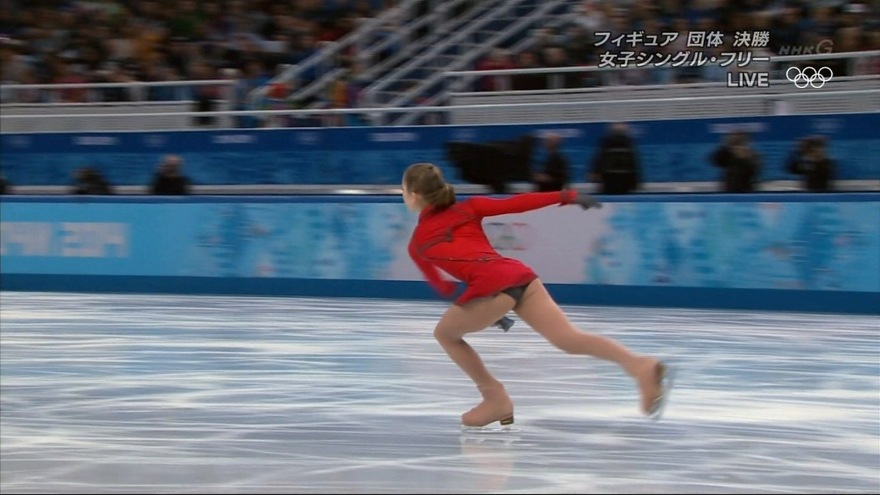 フィギュアスケートのユリア・リプニツカヤ