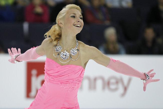 フィギュアスケートのクセニヤ・マカロワ