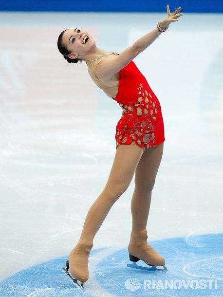 フィギュアスケートのアデリナ・ソトニコワ