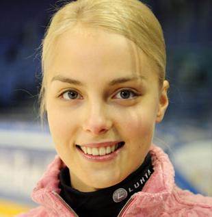 フィギュアスケートのキーラ・コルピ