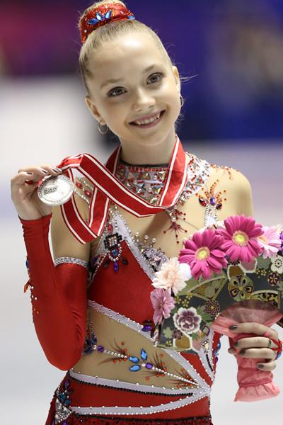 フィギュアスケートのエレーナ・ラジオノワ
