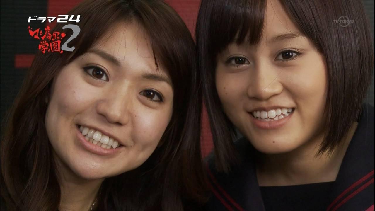 AKB48の大島優子と前田敦子