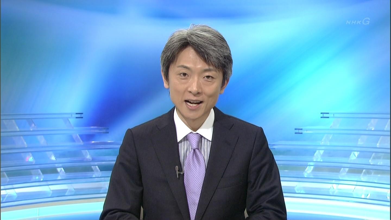 NHKの登坂淳一アナ