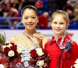 鈴木明子とユリア・リプニツカヤ