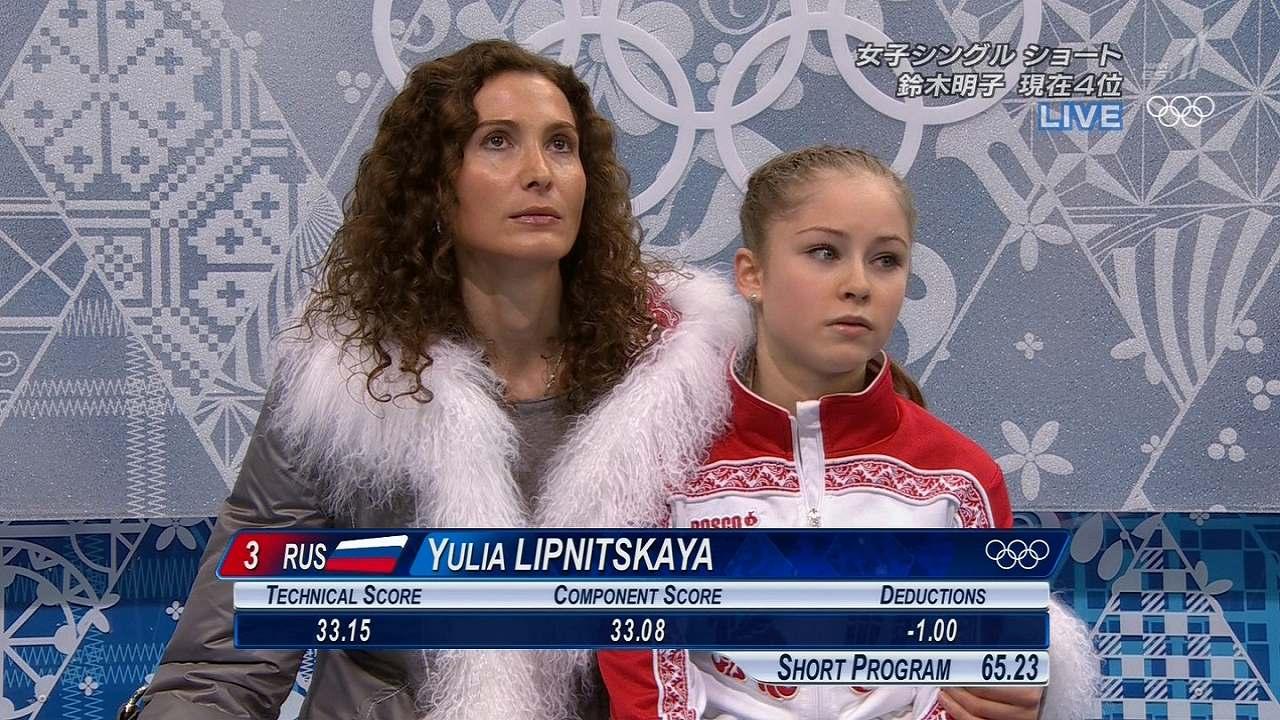 涙目のユリア・リプニツカヤ