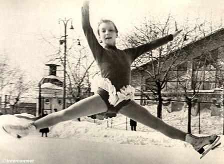 現役時代のタチアナ・タラソワ