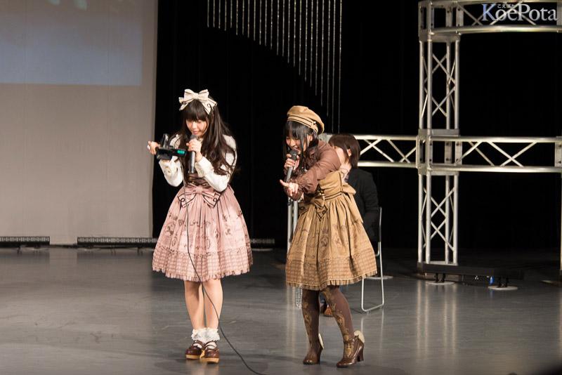 バレンタイントークイベントの竹達彩奈と悠木碧