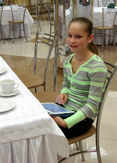 プライベートのユリア・リプニツカヤ