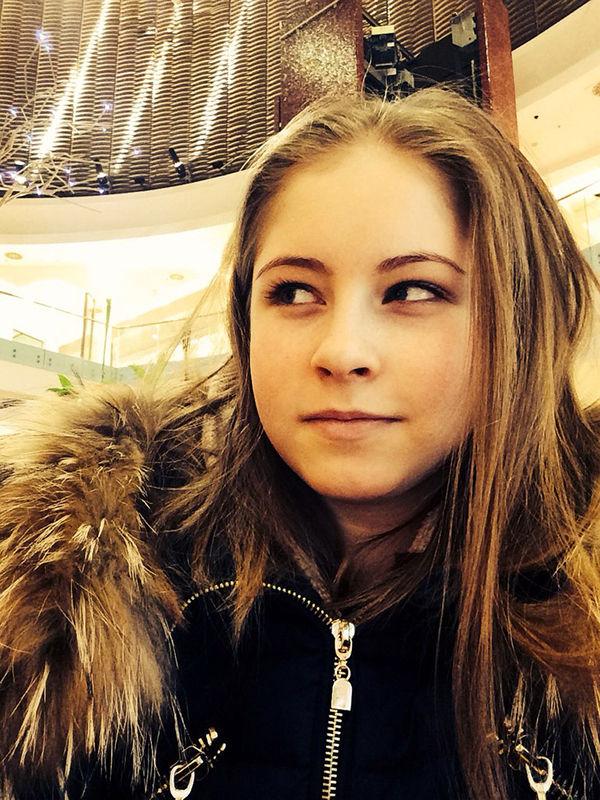私服姿のユリア・リプニツカヤ