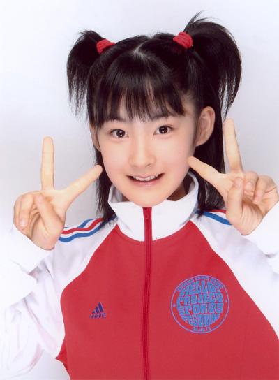 13歳の時の嗣永桃子