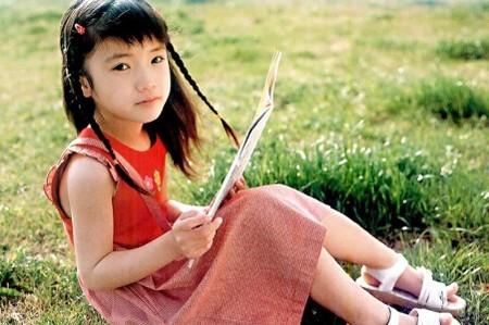 10年前、子役時代の美山加恋