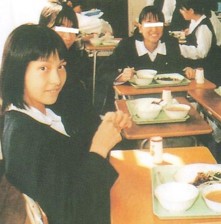 学生時代の青木裕子