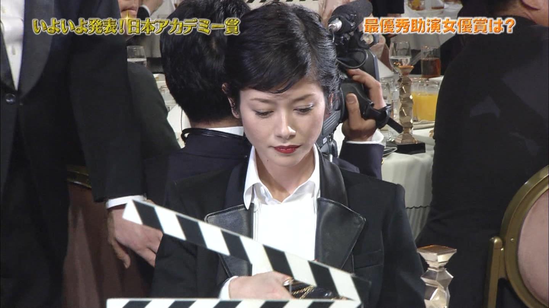 第37回日本アカデミー賞授賞式の真木よう子