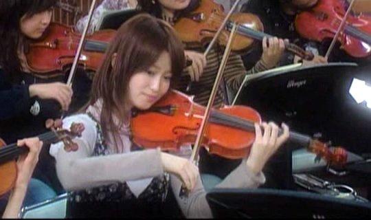 長瀬の元カノのバイオリニスト、岡部磨知
