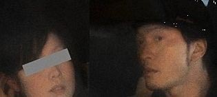 長瀬智也と岡部磨知のツーショット フライデー画像