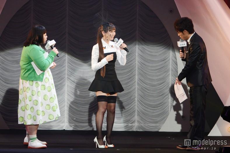 「sweet」の15周年記念イベントに出演した紗栄子の体型が酷い