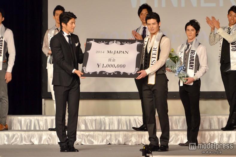 2014ミスター・ジャパンの比嘉亨さん(26)