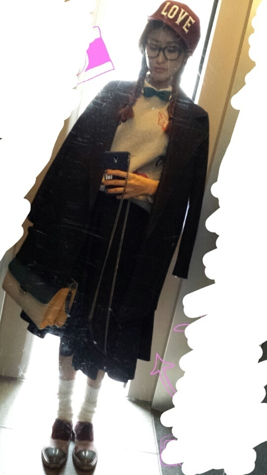 山田優の私服
