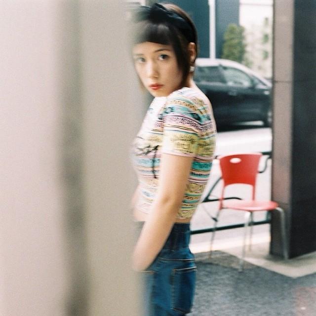 仲里依紗がインスタグラムにUPした胸強調画像