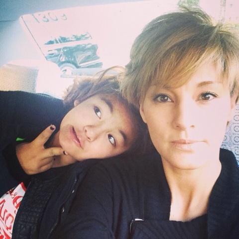 梅宮アンナと娘の梅宮百々果