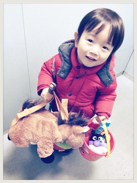 2歳になった藤本美貴の息子