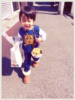 2歳になった藤本美貴と庄司智春の息子