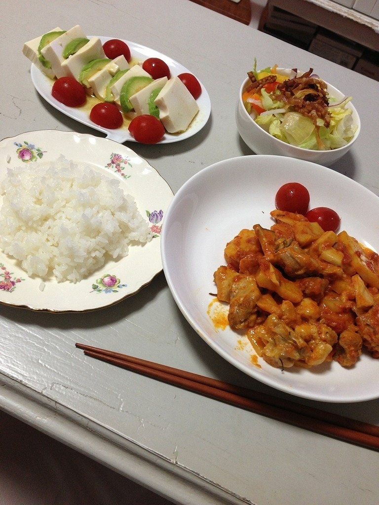 桐谷美玲の料理