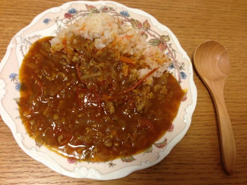 竹内由恵アナが作ったトマトづくしカレー