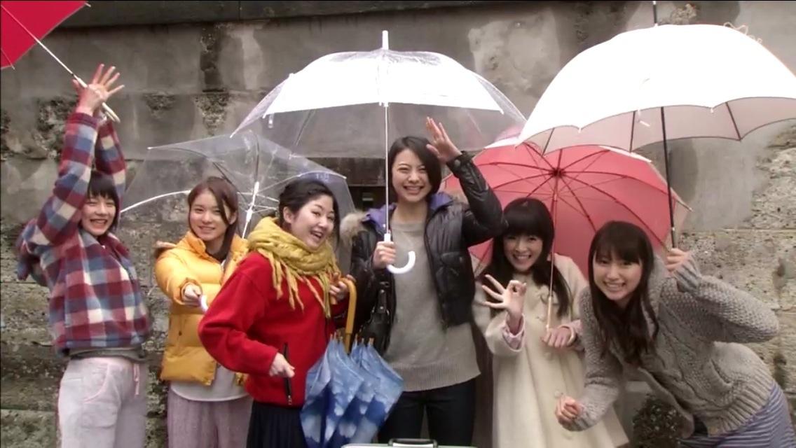 ドラマ「あまちゃん」、GMT48のみんな、能年玲奈、山下リオ
