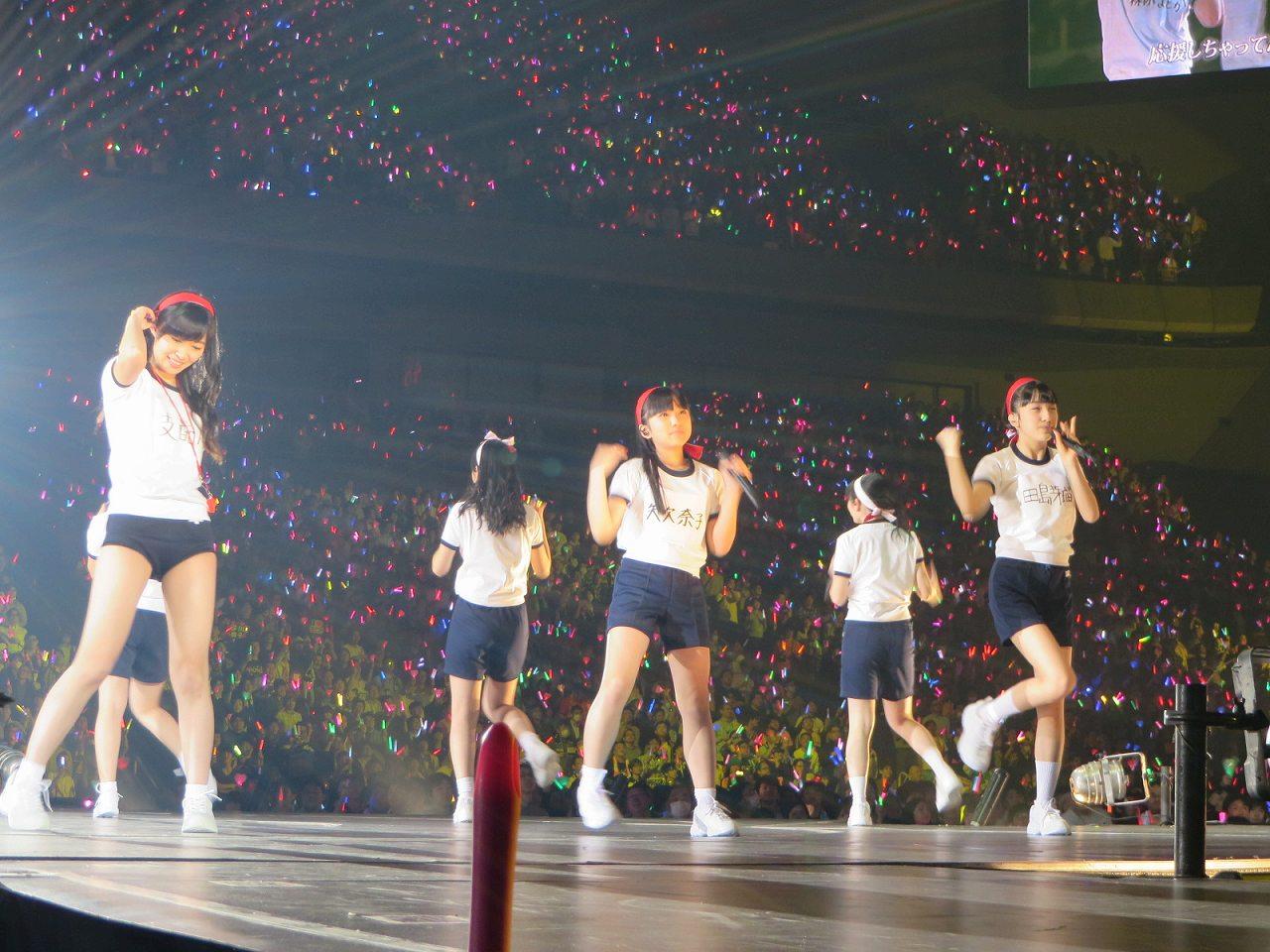 HKT48大運動会での指原莉乃のブルマ姿、矢吹奈子と田島芽瑠の体操服姿