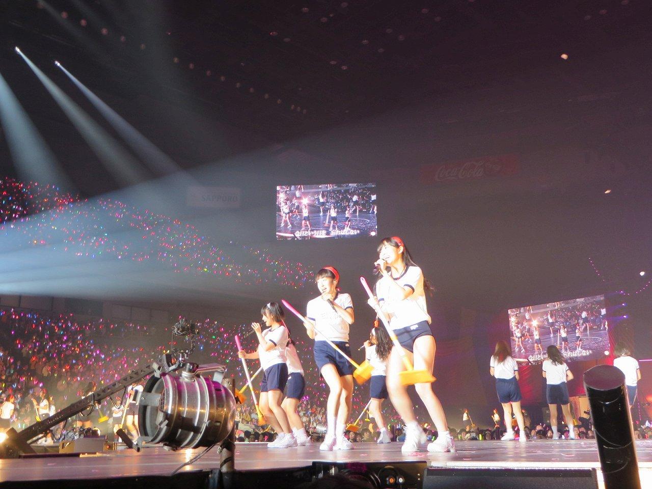 HKT48大運動会での指原莉乃のブルマ姿