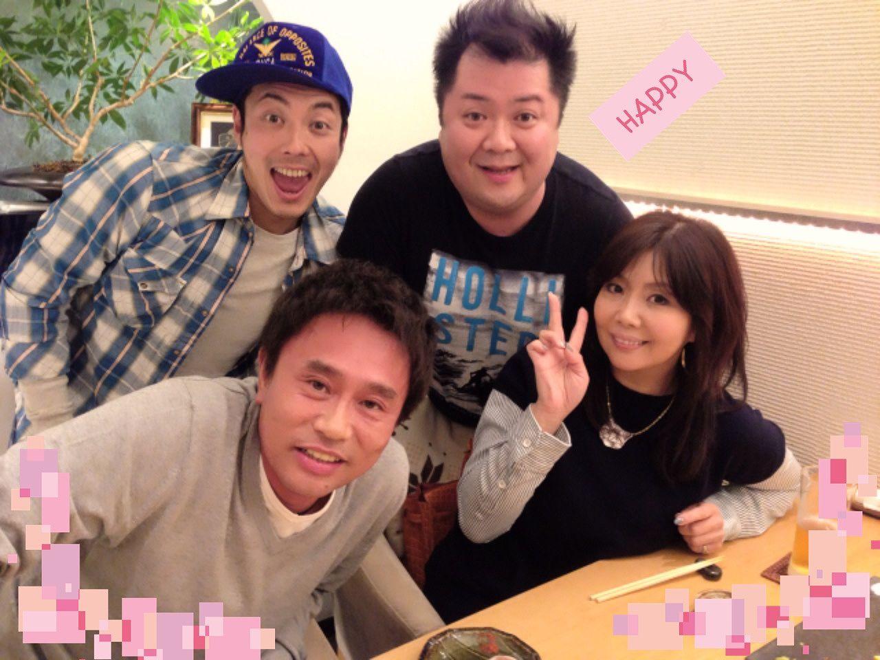 浜田雅功、小川菜摘夫妻とブラマヨ小杉