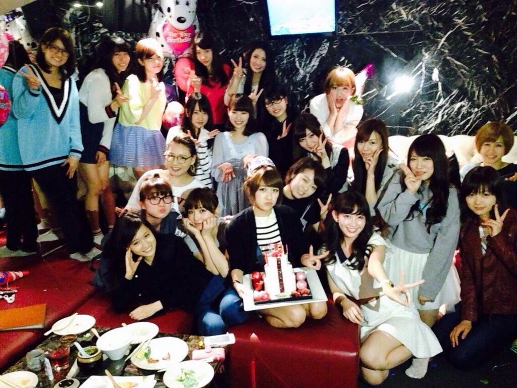 前田敦子、篠田麻里子、大島優子らが出席した高橋みなみの誕生日会