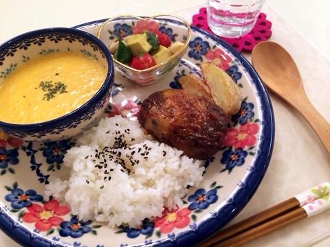 小倉優子の料理 ワンプレートで盛り付け