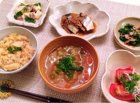 小倉優子の料理 和食