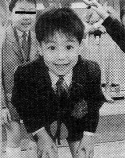 子供の頃のEXILE TAKAHIRO