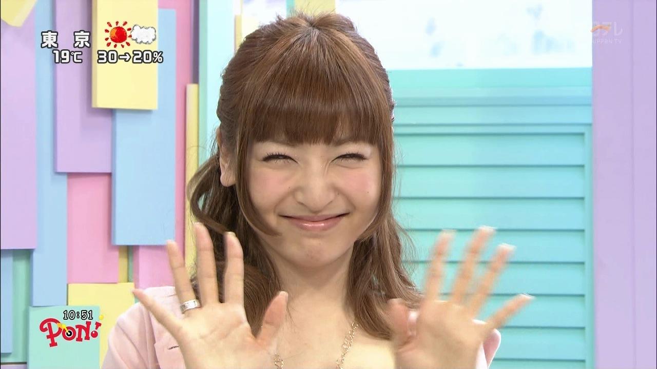 PON!に出演した神田沙也加が劣化してる