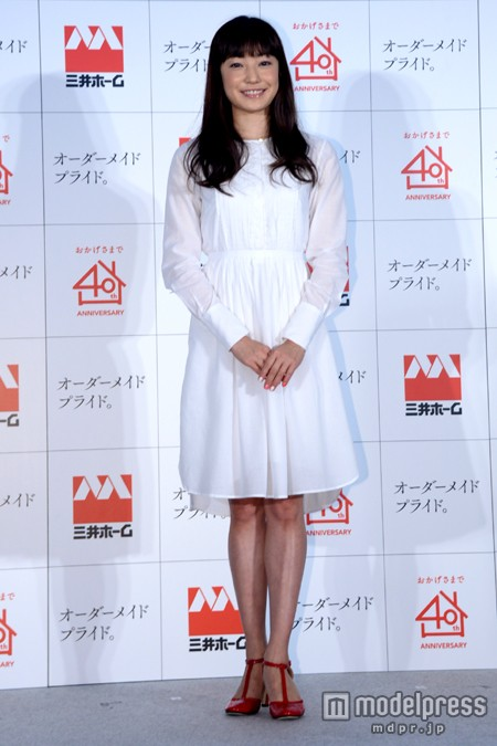 「三井ホーム」の新CM発表会に出席した菅野美穂が劣化してる