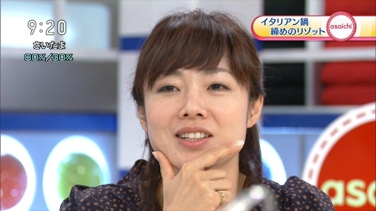 NHKの女子アナ、有働由美子