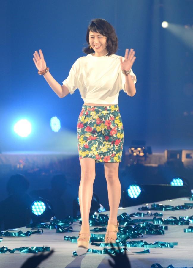 「GirlsAward 2014 SPRING/SUMMER」に出場した長澤まさみ