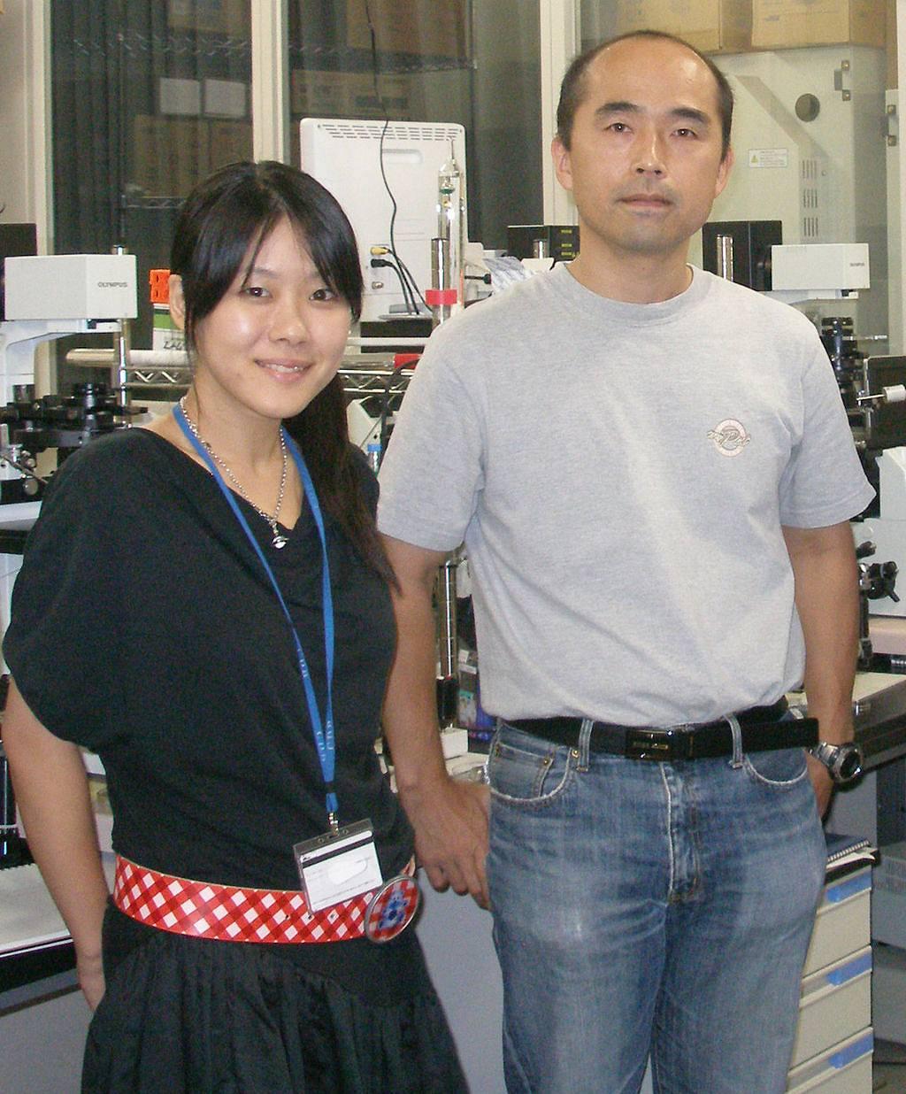 小保方晴子と共著者の若山教授