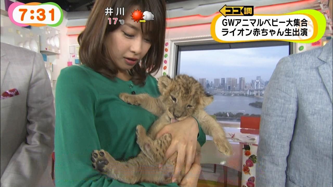 めざましテレビで加藤綾子アナが胸を触られる放送事故