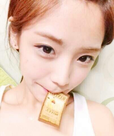韓国のアイドル、ソユル