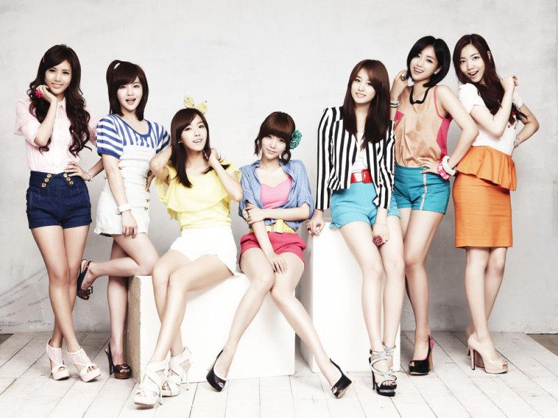韓国のアイドルグループT-ara
