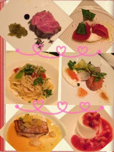 プライベートでモーニング娘。の飯窪春奈と中川翔子が食べたディナー