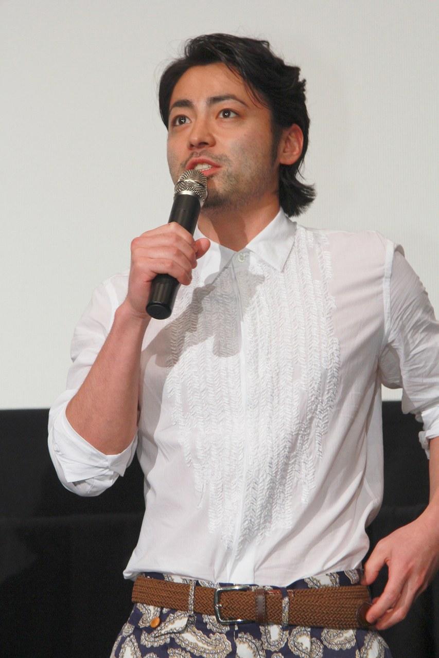 映画『闇金ウシジマくん Part2』上映祭イベントでの山田孝之