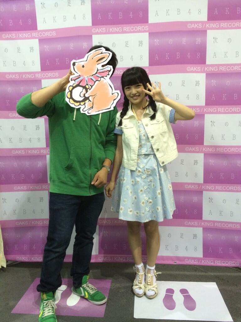 AKB48写メ会での向井地美音が可愛すぎる