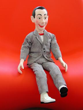 ピーウィー・ハーマンの人形